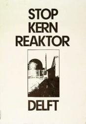 Aktie tegen reactor Delft