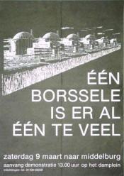 Tegen Borssele-2 en opslag kernafval