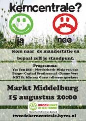 Manifestatie tegen Borssele-2