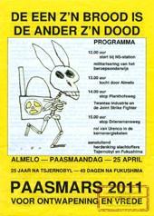 Paasmars in teken Tsjernobyl